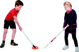 Jeu du gouret pour enfants ou adutes. Matériel de ringette à acheter pas cher. Jeu sportif pour enfants du gouret ou ringette.