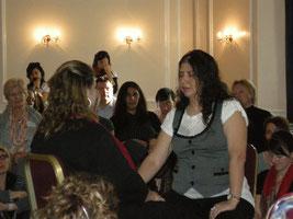 - Sessione  di  scavo  con il  Theta Healing -       Vianna Stibal, Novembre 2009 a Londra