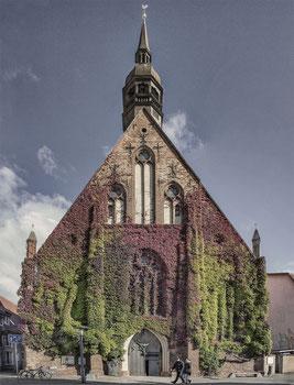 Portal der Heilgeistkirche in der Wasserstraße