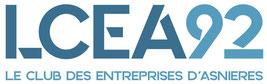 Logo Le club des entreprises d'Asnières LCEA 92 Hauts de Seine