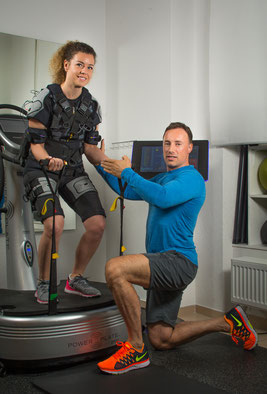 EMS Training- kabellos, funktional- Fitness in 20 Minuten