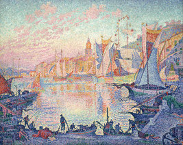 le port de Saint-Tropez, Paul Signac - 1901/1902