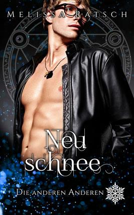 """Buchcoverbild """"Neuschnee"""", dem siebten Teil der Romantik-Fantasy-Reihe """"Die anderen Anderen"""""""