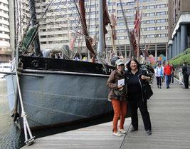 In the docks