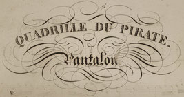 Quadrille du Pirate : Pantalon