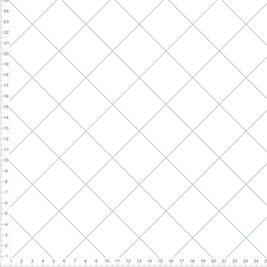 Bio-Stoff mit geometrischem Muster im skandinavischen Design in Weiß Grau zum Nähen