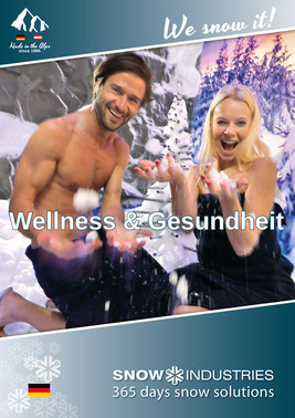 Imageprospekt Wellness & Gesundheit Snow-Industries