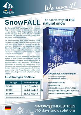 Produkt-Info SnowFALL