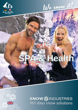 Image brochure SPA & Health Snow-Industries