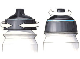 Shanti Bottle Lid Style