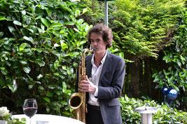 Solo-Saxophonist - ohne Aufwand und Technik