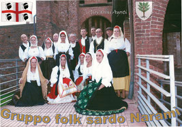 Gruppo folk sardo Naramì... 07/10/2012