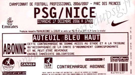 2006-12-17  PSG-Nice (18ème L1)