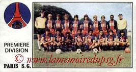 N° 256 - Equipe PSG