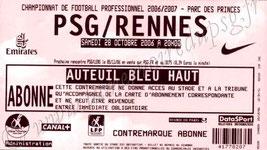 2006-10-28  PSG-Rennes (11ème L1)
