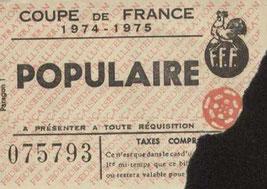 1975-03-09  PSG-Sète (16ème Finale Retour CF à Colombes, Sans nom)