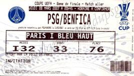 2007-03-08  PSG-Benfica (8ème Finale Aller C3)