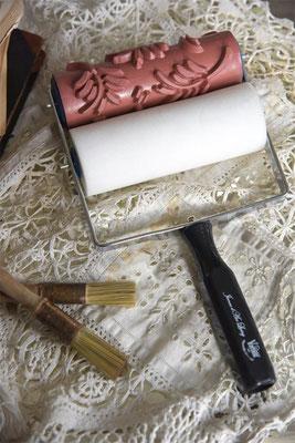Rouleau de peinture de la gamme Vintage Paint de Jeanne d'Arc living