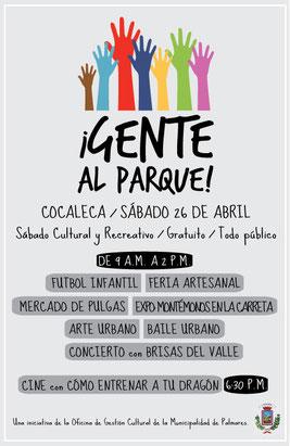 Barrio La Cocaleca, sábado 26 de abril de 2014