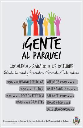 Barrio La Cocaleca, sábado 12 de octubre de 2013