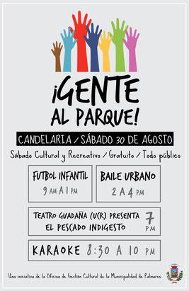 Distrito Candelaria, sábado 30 de agosto de 2014
