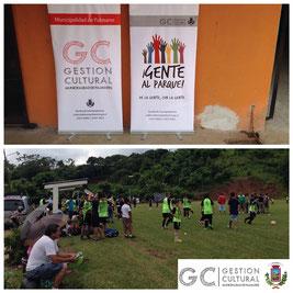 Escuelas de futbol infantil de La Cocaleca y Esquipulas llevaron a cabo un torneo.