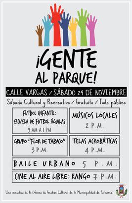Barrio Calle Vargas, sábado 29 de noviembre