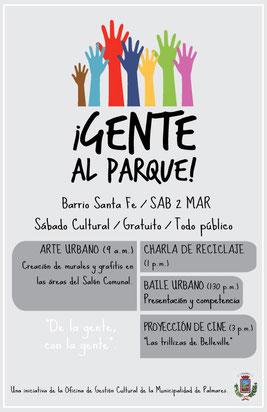 Barrio Santa Fe, sábado 2 de marzo de 2013