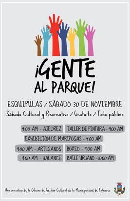 distrito Esquipulas, sábado 30 de noviembre de 2013