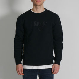 Exclusive pangu Sweater - schwarz