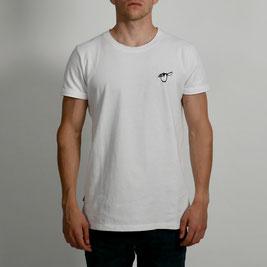 Salute Pinguin Shirt Weiß