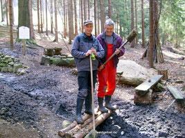 Frank Heinzel und Wolfgang Schultze.