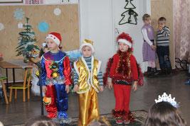Новорічні та різдвяні свята в ДНЗ