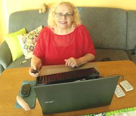 online Arbeit mit ❤️ Freude, gerne mit Dir