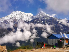 ハイキャンプ(3550m)