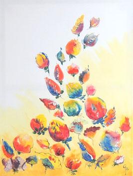 Galambos Rita, acrylic on canvas  dekoration painting, bildende Künstlerin Malerin Graphic, Illustrator, Painter, Designer, Artist, contemporary art, Vorarlberg Feldkirch Austria