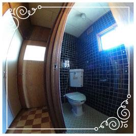 1階トイレ↓パノラマで内覧体験できます。↓