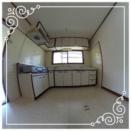 1階キッチン↓パノラマで内覧体験できます。↓