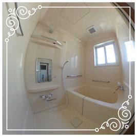 1階浴室↓パノラマで内覧体験できます。↓