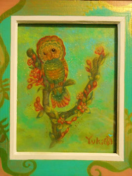 タイトル未定 絵画 楽園のアート 立花雪 YukiTachibana