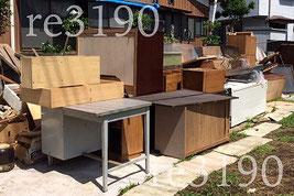 家屋 解体前の不用品片づけ,回収,処分