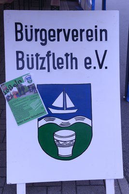 Verkaufsoffener Sonntag in Bützfleth! Der Bürgervein beteiligte sich mit einem Info-Stand. 14.09.2014