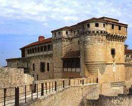 Castillo de Cuéllar en Segovia