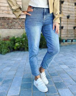 vêtement pour femme jeans brodé