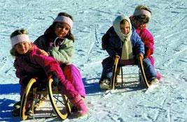 Neben Schlittenfahren gibt es im Ort auch Langlauf-Loipen. Die nächsten Skigebiete liegen schon im Umkreis von 10 km.