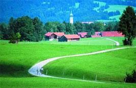 Wandern im Alpenvorland