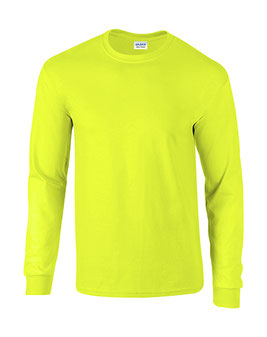 Langarm T-Shirt Ultra Cotton™ Safety Green