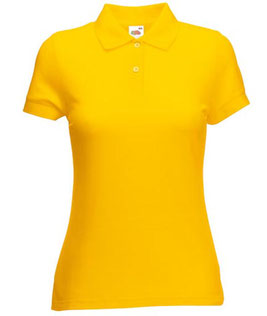 Ladies' Polo Mischgewebe Fruit of the loom