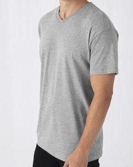 günstiger T-Shirt Druck B&C  Exact 150 V-Neck