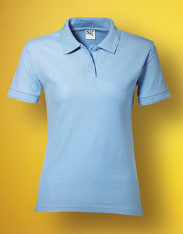 bedrucke Ladies' Poly Cotton Polo SG59F